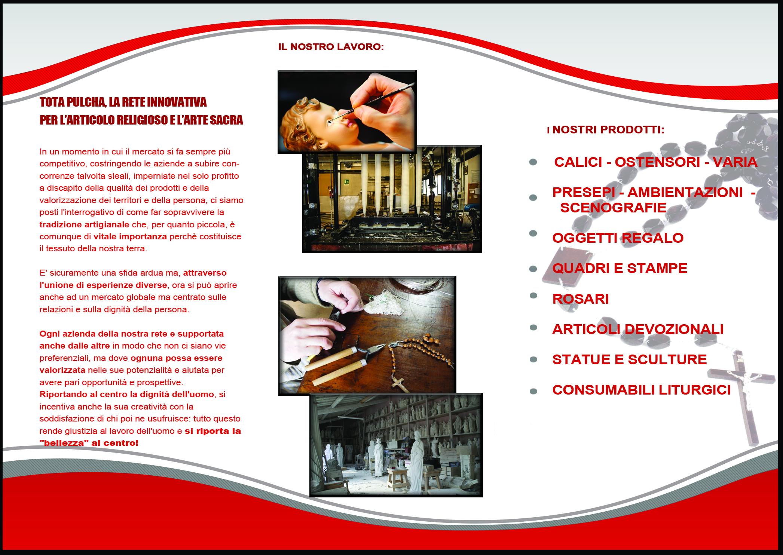 retro brochure totapulchra rete di imprese