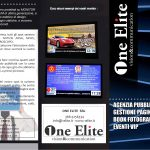 brochure one elite vision and comunication fronte