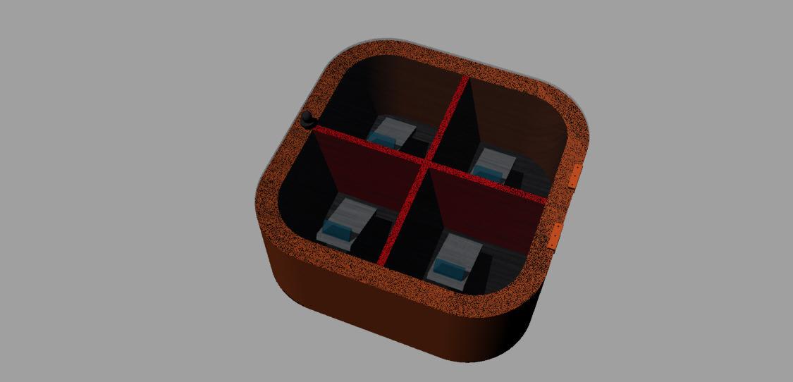 Modelli 3d espositore per cellulari con meccanismo rotante - Meccanismo rotante per tavolo ...